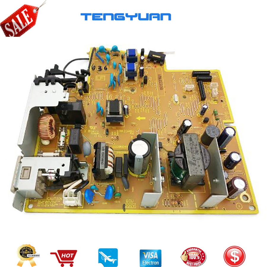 Free shipping 100% test original for HPP1606/1606DN/P1566 Power Supply Board RM1-7615(110V) RM1-7616 RM1-7616-000(220V) on sale купить в Москве 2019