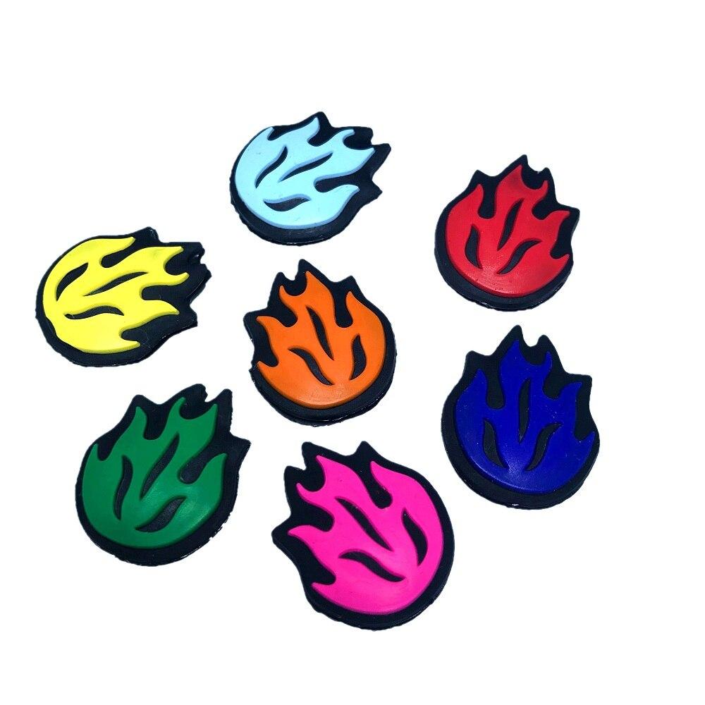 Frete grátis (20 pçs/lote) Chama Vibração Amortecedor/raquete de tênis/raquete de tênis