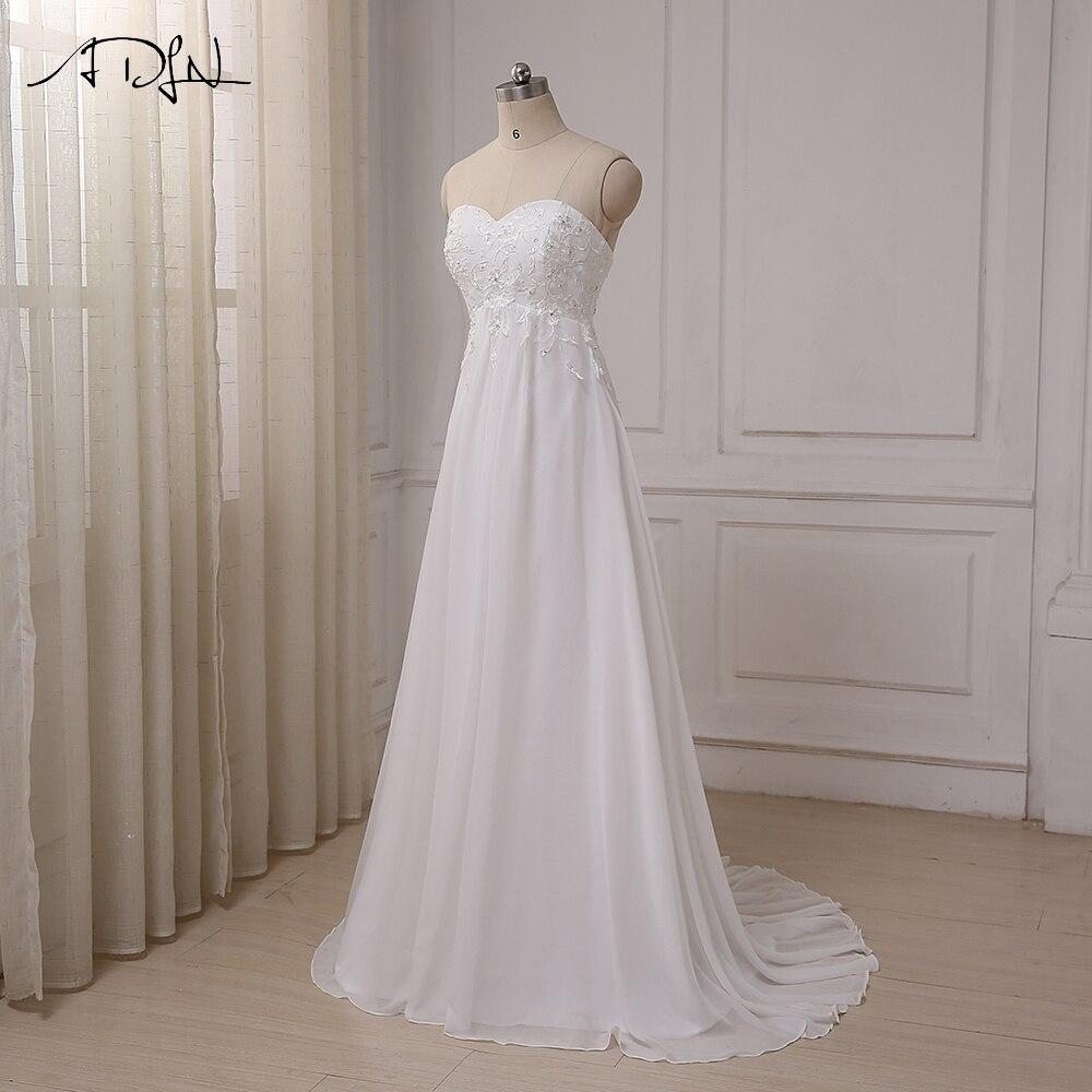 ADLN Φτηνές Φόρεμα Γάμου Sweetheart - Γαμήλια φορέματα - Φωτογραφία 4