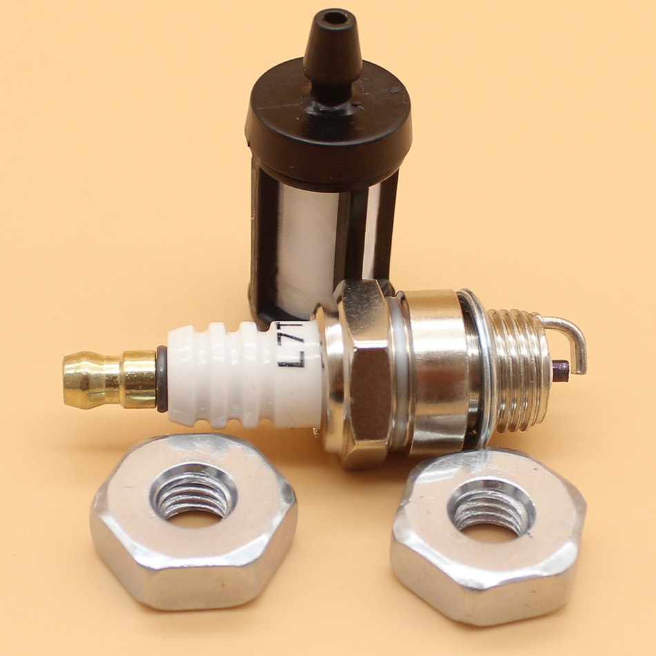 Guide Bar Nut Fuel Filter Service Kit For STIHL MS240 MS260 MS290 MS390 MS441 MS460 Chainsaw