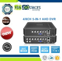 1080P IP Camera Onvif DVR PTZ H.264 AHD 1080N 4CH 8CH CCTV DVR Mini DVR 5IN1 For CCTV Kit VGA HDMI Security System Mini NVR