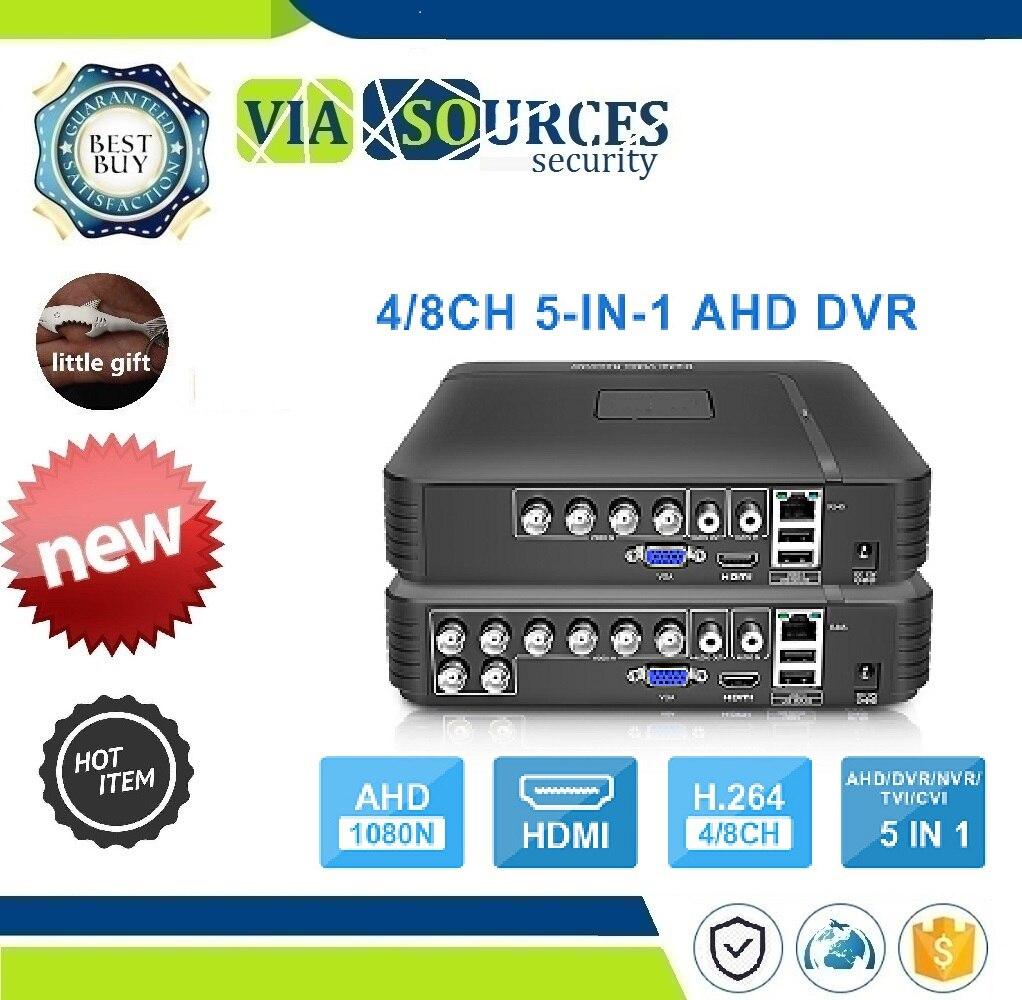 1080P IP Camera Onvif DVR PTZ H.264 AHD 1080N 4CH 8CH CCTV DVR Mini DVR 5IN1 For CCTV Kit VGA HDMI Security System Mini NVR
