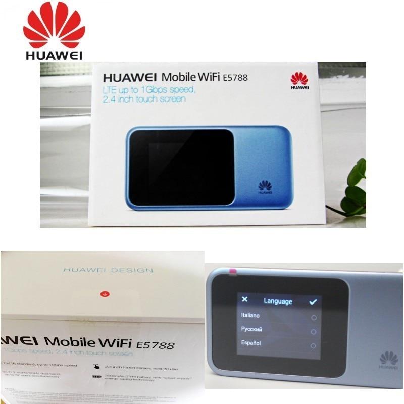 Huawei E5788 (E5788u-96a) Gigabit LTE Cat.16 Mobile Hotspot (Unlocked)