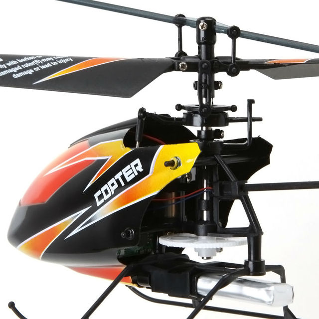WLtoys V911 Fast mini Indoor Outdoor Helicopter 2.4G