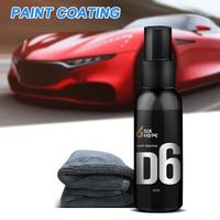 50 мл автомобильное керамическое покрытие краска гидрофобное керамическое покрытие спрей для стеклянного автомобиля Стайлинг