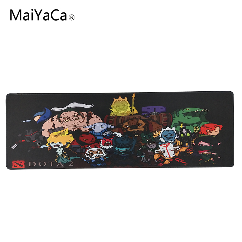 MaiYaCa 2018 Hot Large Game Mouse Pad 900*300 high quality with edge locking Speed Version Game Keyboard Pad for Gamer