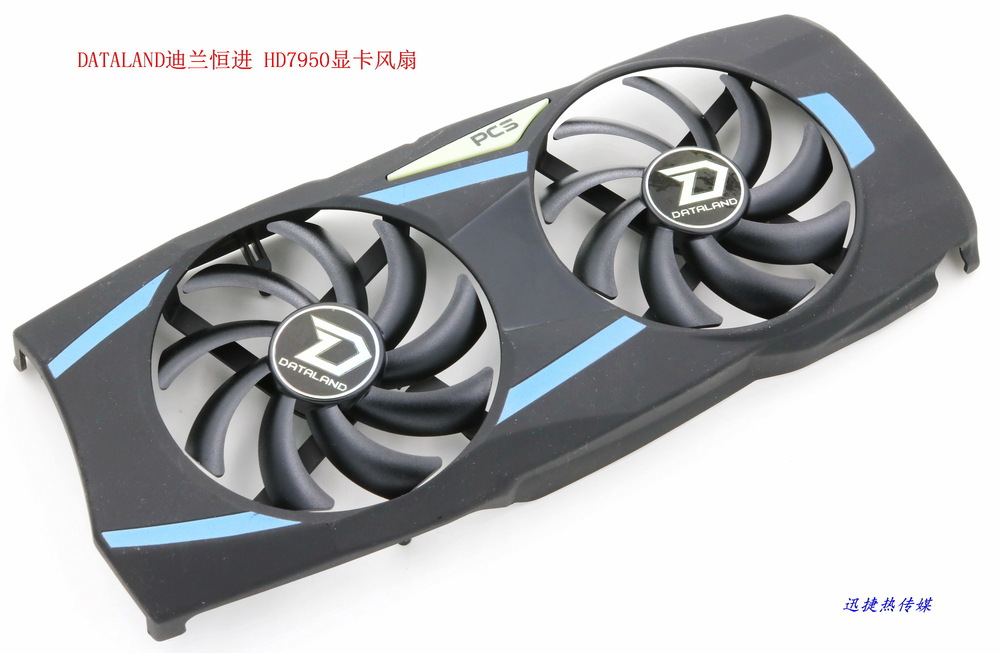 New Original for DATALAND PowerColor HD7950 PLD09210D12HH  graphics card fan without heatsink ga92b2h pftb 12v 0 35a fan for powercolor devil 13 dual core r9 290x 8gb gddr5 graphics card fan