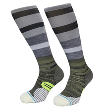 Ethnic Strip Running Socks CoolMax Nylon Compression Thermosocks Outdoor Sports Cycling Socks For Men and Women 44w