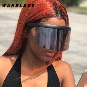 Большие солнцезащитные очки с козырьком, большие квадратные очки 2018, солнцезащитные очки для женщин и мужчин, винтажные ветрозащитные очки ...