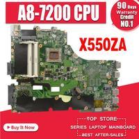 X550ZA 마더 보드 For Asus X550Z K550Z X555Z VM590Z 노트북 마더 보드 X550ZE 메인 보드 X550ZA 마더 보드 테스트 ok A8-7200U
