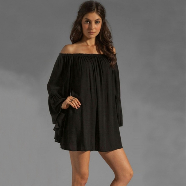 78c101e043 New Sexy Women Bikini Cover Up Sarong Swimwear Kaftan Dress Summer Beach  Wear Lace Crochet