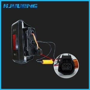 Image 4 - HJYUENG LED 2007 2016 Für Jeep Wrangler mit Lauf Bremse Backup Reverse Drehen Signal Licht Rücklicht Montage