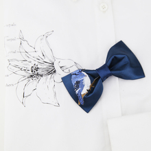 New Fashion Boutique Polyester Bow Ties For Groom Men  Butterfly Animal decor Bowtie Classic Cravat Men's suits accessories 2019 fashion bow ties for groom men butterfly colorful bowtie creative feather decor bowtie men s suit s accessories