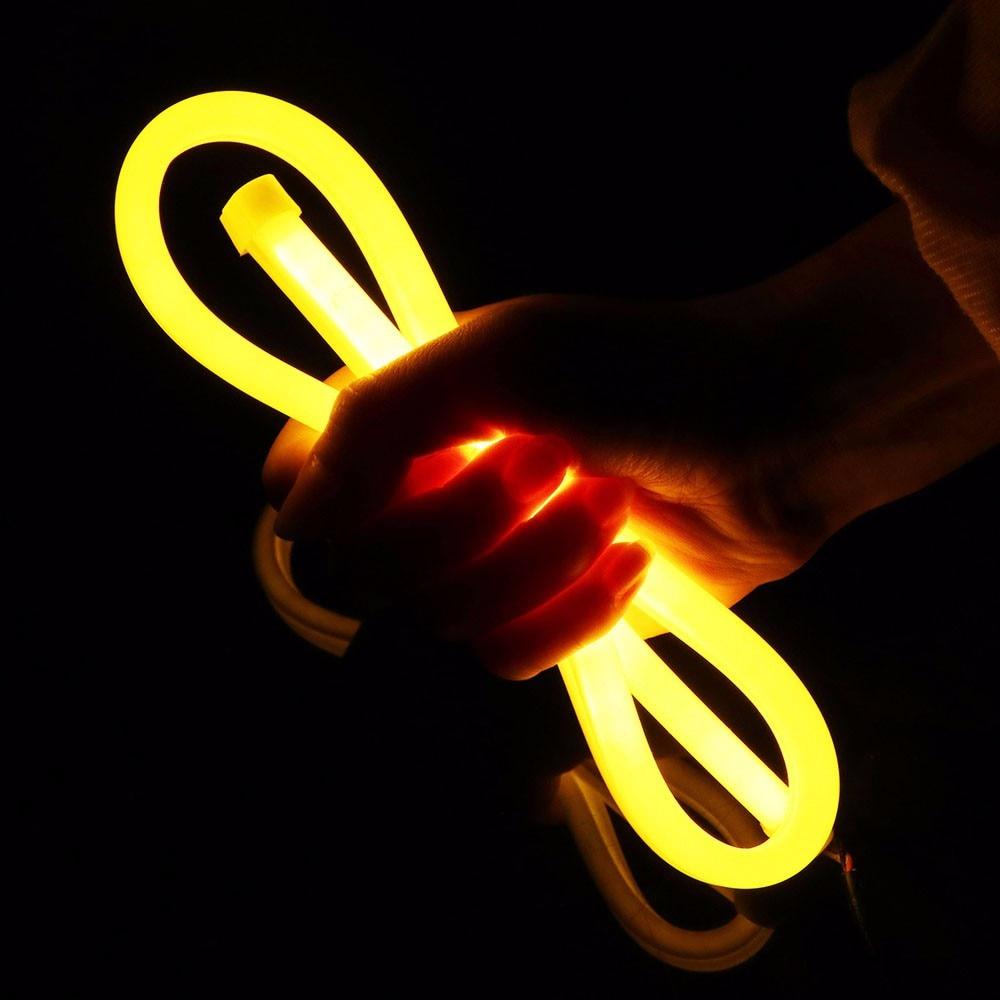 2*60 CM Auto LED Tagfahrlicht + Laufumdrehungssignallicht Flexible ...