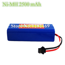1 piece Ni-MH 2500 mAh Original Battery Pack replacement for Seebest D730 D720 robot Vacuum Cleaner Parts цена 2017