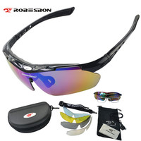 Polarized Sunglasses Set Outdoor Sports Eyewear Windproof Anti UV Climbing Sikking Cycling Goggle Pro Road MTB