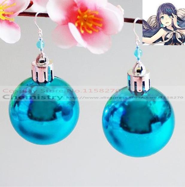 SINoALICE The Little Mermaid Cosplay earrings