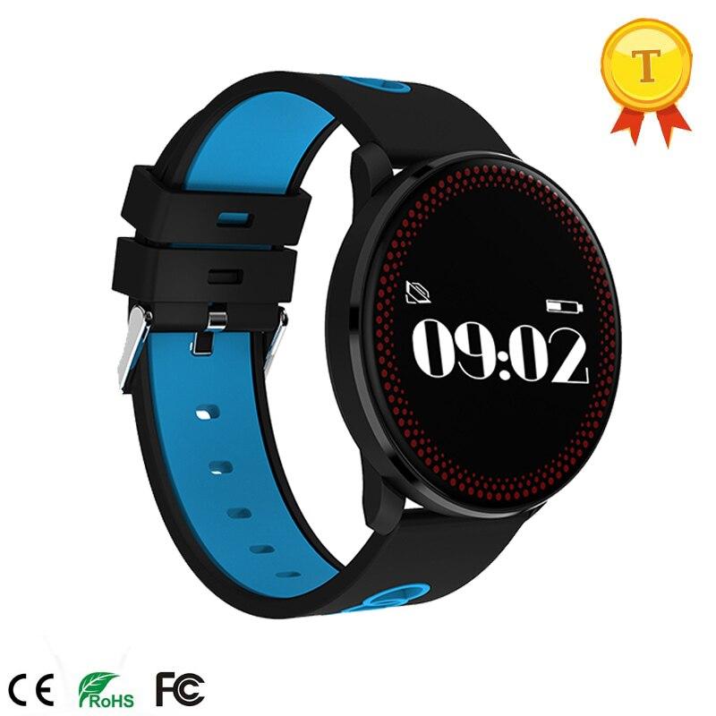 Sport bracelet intelligent bracelet surveillance du sommeil meilleur cadeau de montre-bracelet de noël pour les amis vente chaude traqueur de fréquence cardiaque pk S2