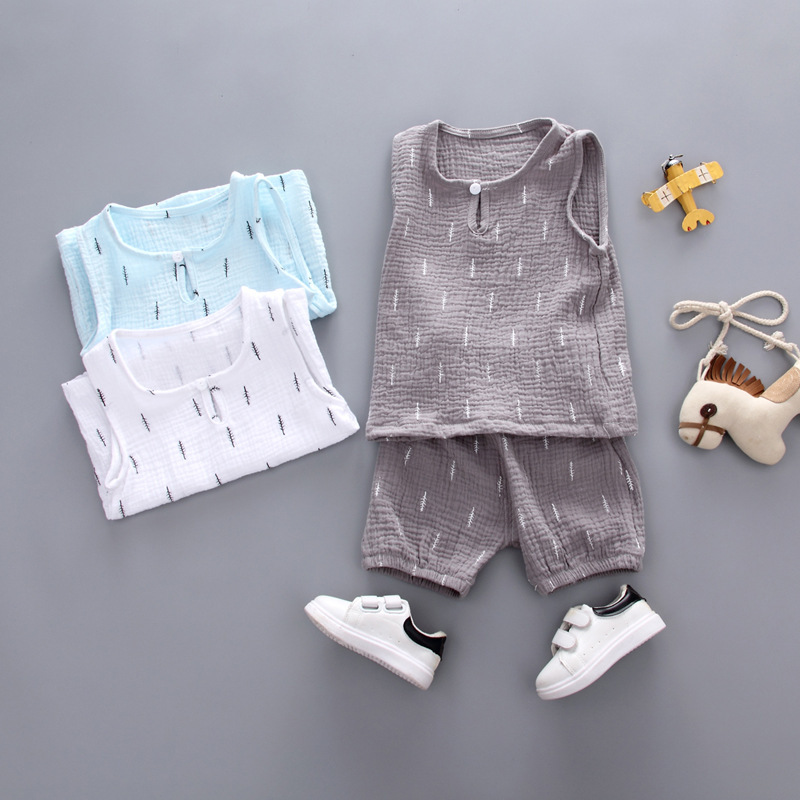 Mother & Kids Baby Boys Clothes 2019 Summer Style Beach Star Tree Print Casual Sport Suit 2pcs Sets T Shirt Shorts Baby Girls Clothes Set We Take Customers As Our Gods