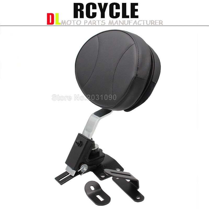 Automobiles & Motorcycles Official Website Moto Leather Plug Rider Driver Seat Backrest Kit Custom Made For Harley Fltr Touring Models Flht Flhr