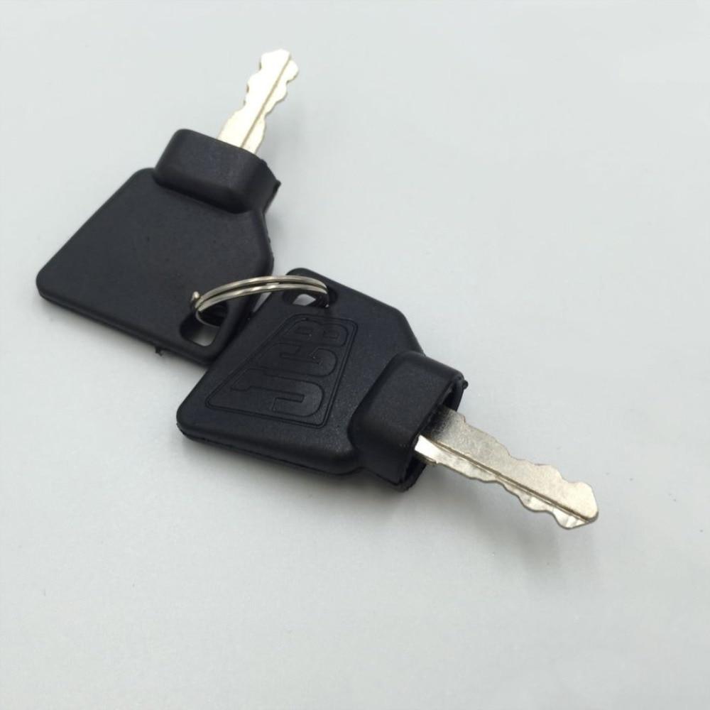 N//A JCB Parts 3CX JCB Ignition Switch With 2 Keys For JCB Excavator Digger