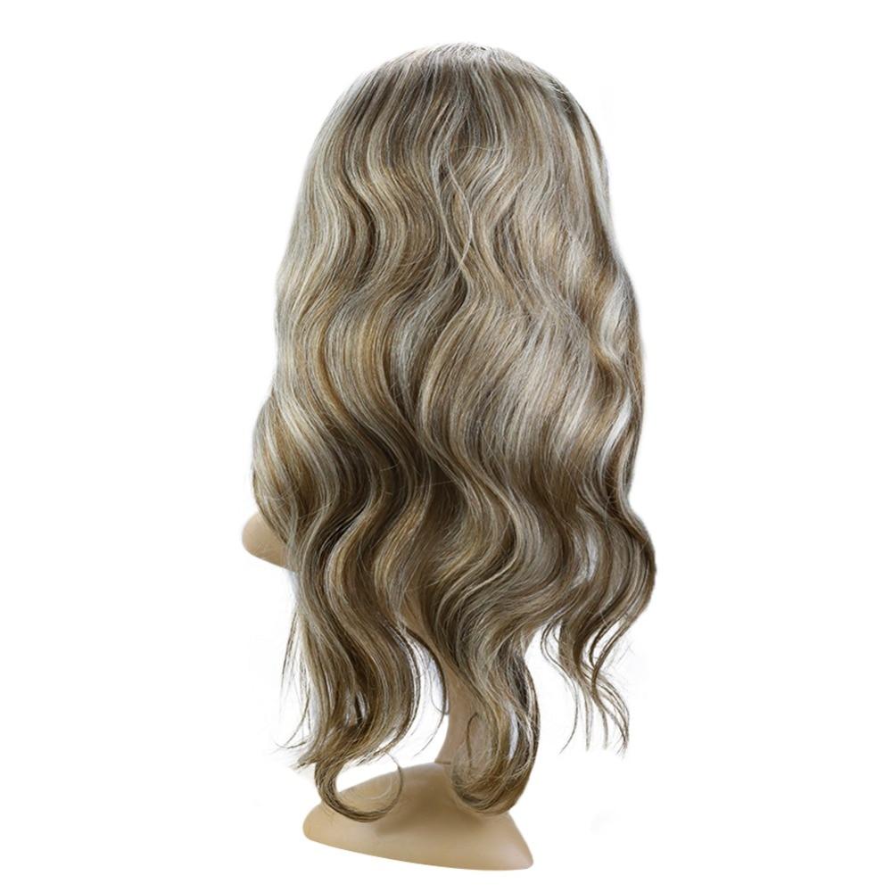 Фулл Схине Балаиаге чипка предња коса - Људска коса (за белу) - Фотографија 4