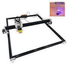 цена на DIY CNC Laser Engraver Kits 65x50cm Work Size CNC USB Machine Laser Engraving Carver 2500mw Desktop Carving Engraving Machine