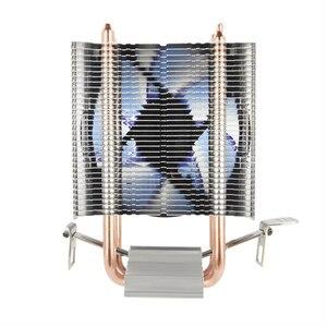 Image 2 - ALSEYE radiateur refroidisseur de processeur 2, 90mm ventilateur CPU, pour Intel LGA 775/1151/1155/et AMD FM2/FM1/AM3/AM2