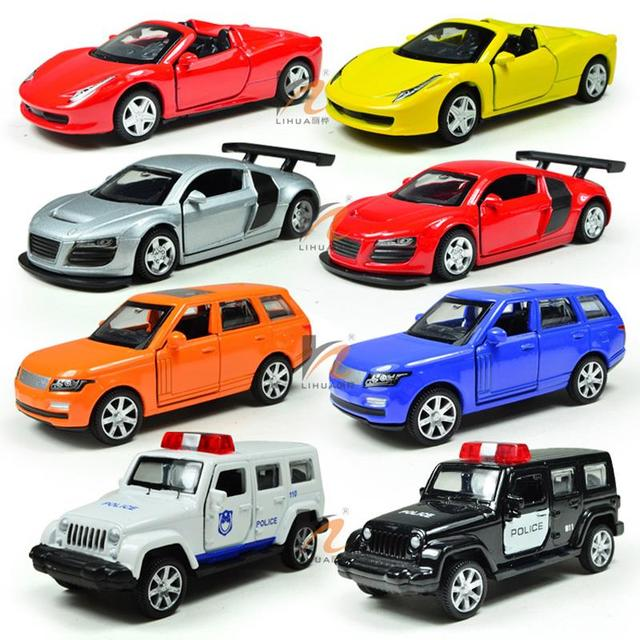 miniature toy cars model non remote alloy plastic kids toys car 164 toy
