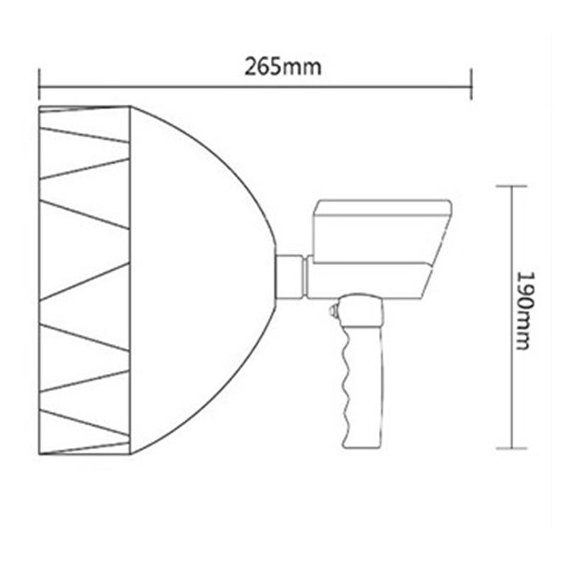 Projectores Portáteis holofotes lâmpada Base : Cunha