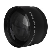 2X 52mm High Speed Telephoto Lens For Nikon AF S DX Nikkor 18 55mm Free Shipping