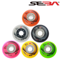 4 Pcs 100 Original SEBA Hyper G Concrete Skating Wheels For SEBA Rollerblade Inline Skates FSK