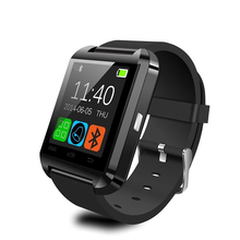 Bluetooth smart watch u8 für iphone android waer sport smartwatch touch wasserdicht armband männer mode-stil handy uhren