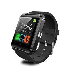 Bluetooth smart watch u8 für iphone android waer sport smartwatch touch wasserdicht armband männer mode-stil handy uhren