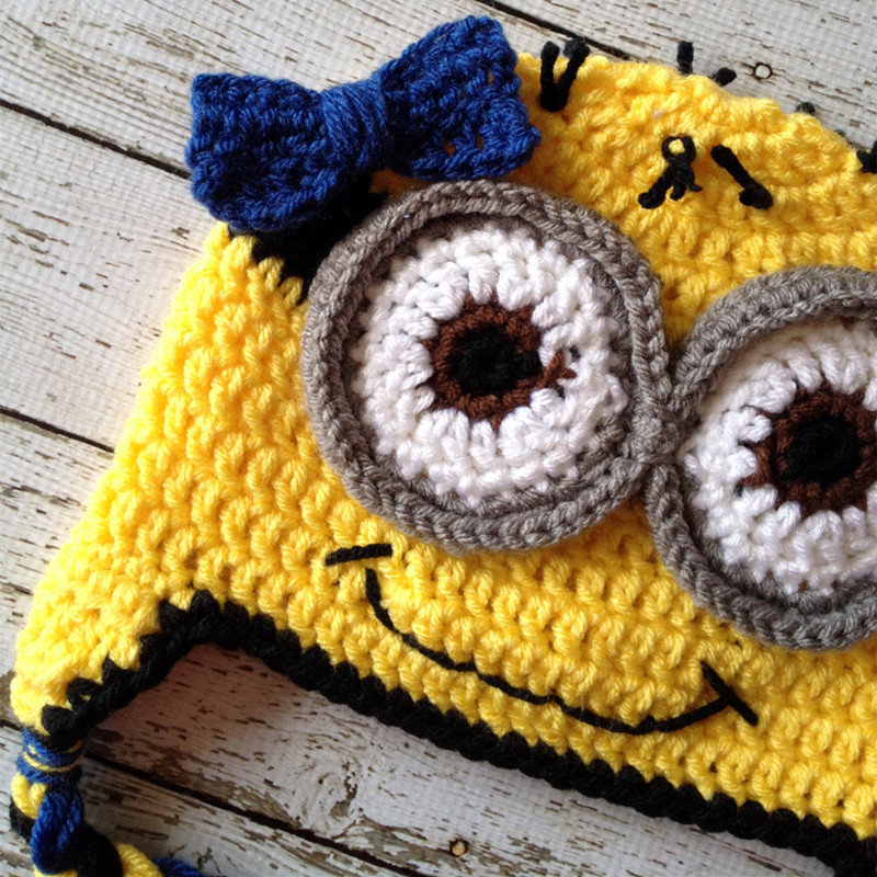 Little Miss Minion Despicable Me Inspired Baby Girl Costumehandmade