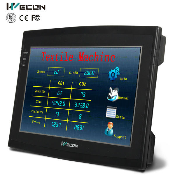 Wecon 10.2 Inch Industrial Hmi Panel LEVI-102ML Display Panel  Touch Screen Panel Control Panel Operator Interface Panel Touch