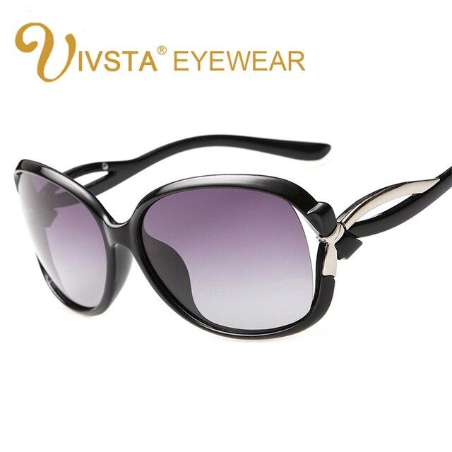 5688f6a1574 IVSTA Polarized Sunglasses Women Glasses Big Face Oversized Sunglasses for  Women Large Frame Brand Designer Baroque Fashion 2229