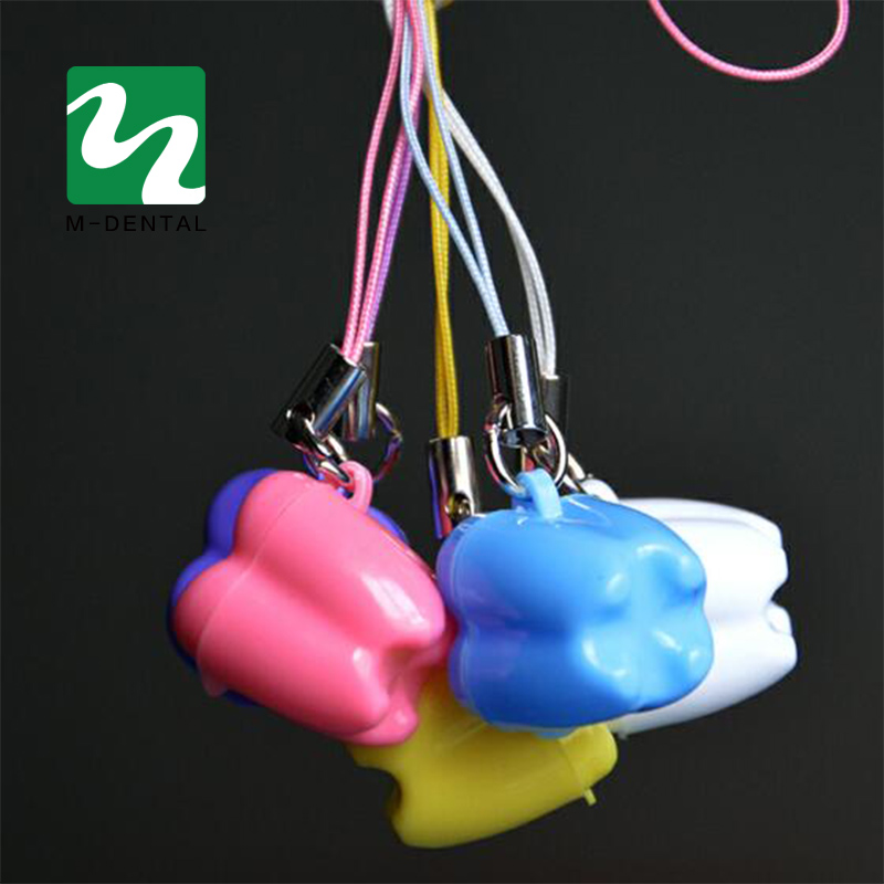Blue Angzhili 5 Pcs Plastic Baby Milk Tooth Storage Box Tooth Saver Necklaces Baby Tooth Boxes for Lost Teeth School Tooth Box for Kids