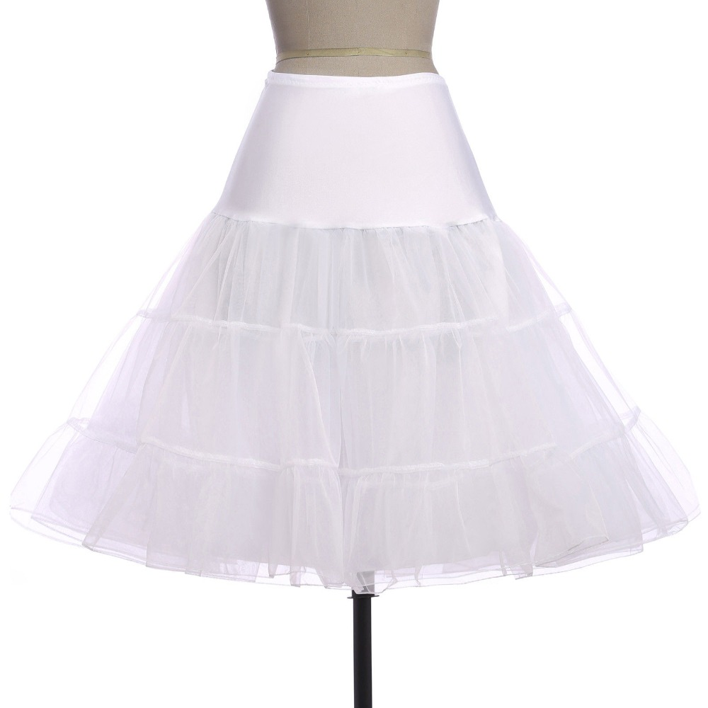 Jupon Mariage Wedding Bridal Petticoat Crinoline Short Skirt Rockabilly Tutu Underskirt sottogonna Wedding Accessories