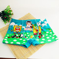 New Boys Cartoon Panties Bamboo Fiber Cool Breathable Birds Briefs Children Boxer Brand Underwear Kids Shorts kids shorts