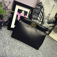 2016 Small Cause Women Messenger Bags High Quality PU Leather 2 Color Available Handbags Fashion Ladie