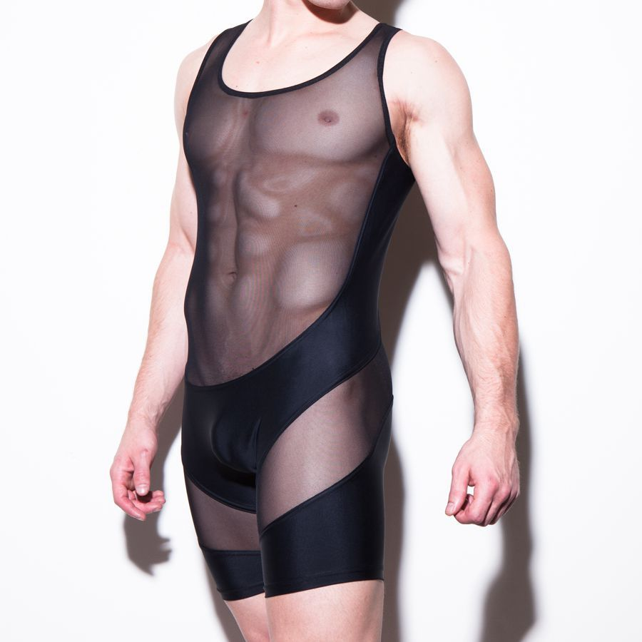 from Kristian gay men in fishnet bodysuit