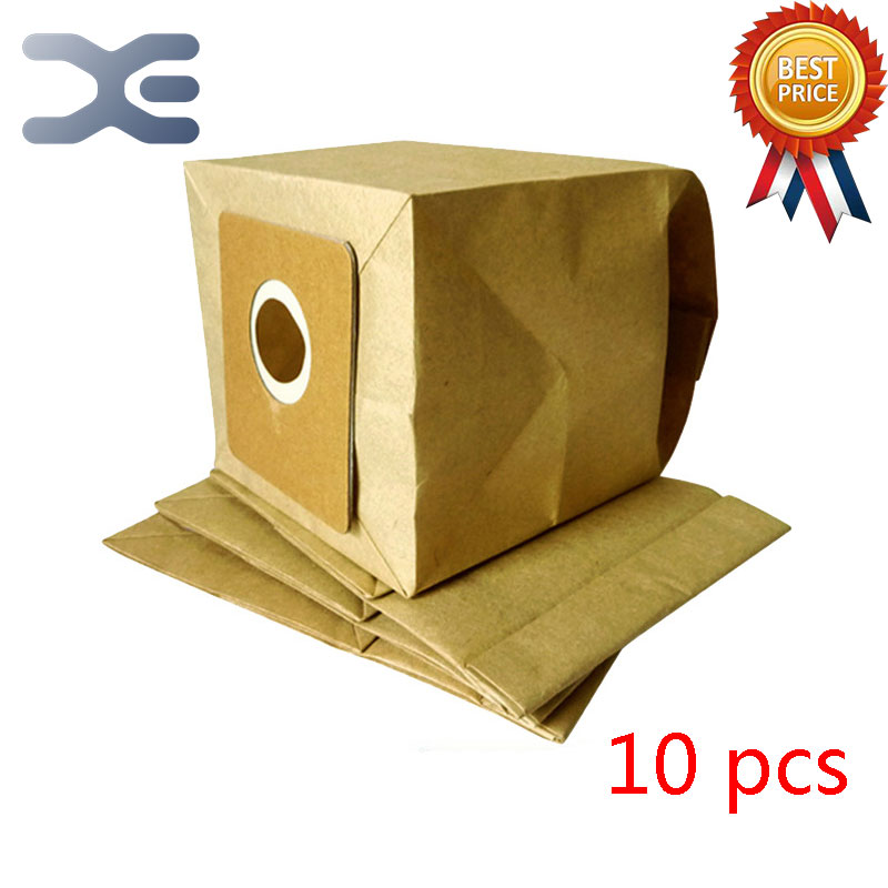10Pcs High Quality Compatible With Midea Of The Vacuum Cleaner Accessories Garbage Filter Paper Bag QW12T-609 QW12T-610 50pcs high quality adaptation sanyo chunhua vacuum cleaner accessories dust bag garbage paper bag xtw 80 zw80 936