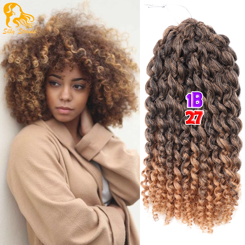 Aliexpress Buy 8 12 Colors Crochet Hair Extensions Curly