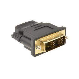 Image 2 - HDMI ソケットに 18 + 1 DVI D 男性プラグ変換アダプタゴールド