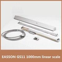 O envio gratuito de Alta Precisão GS11 EASSON codificador linear 1000mm 1u escala linear para a máquina de fresagem CNC codificador escala linear