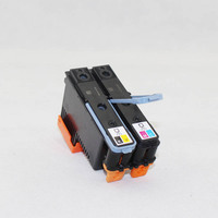 2 Pcs New Printhead Black/Yellow+Cyan/Mage For HP 88 C9382A PRO K550 K8600 K8500 K5300 K5400 L7380 @JH