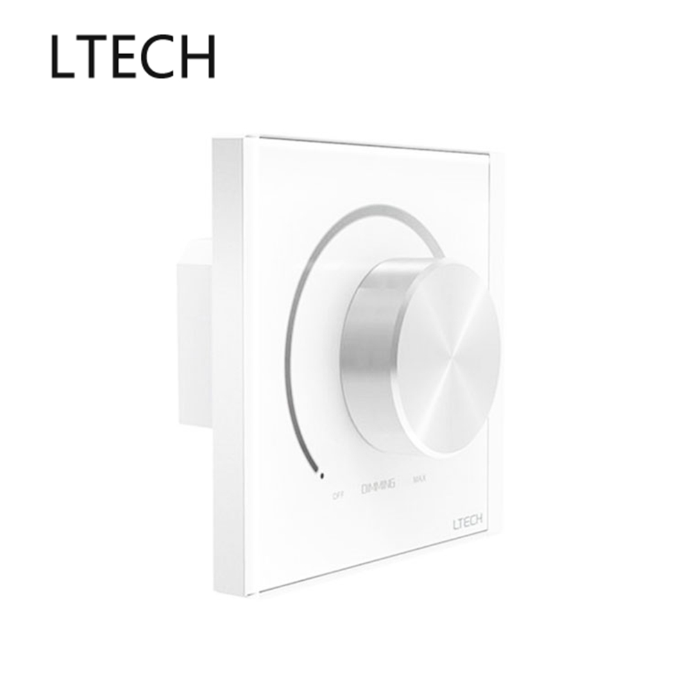 Ltech Knob Panel Dimmer 90 250vac Input 1 10v Dimming Signal Output 5a Max. Load Power E610