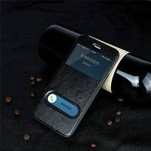 Luxury Flip Cover Leather Case for iPhone 5 5s SE 6 6s