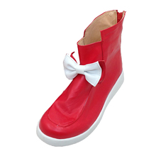Cosplay Touken Ranbu Fujiwara no Mokou shoes boot shoe Womens Boots Shoes High Quality Leather Custom